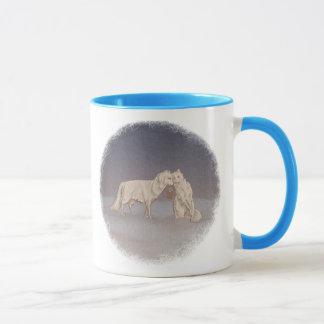 Arctic Foxes Mug