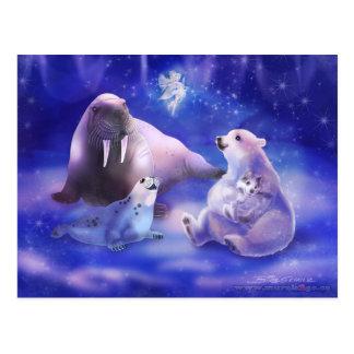 Arctic Friends Postcard