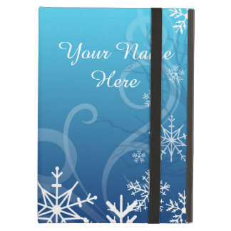 Arctic Frozen Snowdrift Personalized Case For iPad Air