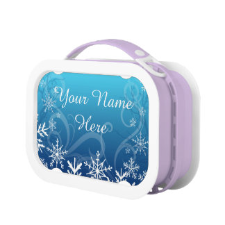 Arctic Frozen Snowdrift Personalized Replacement Plate