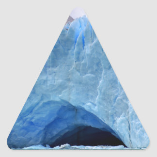 Arctic Glacier Naturescape Ice Triangle Sticker