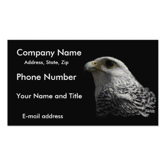 Arctic Gyrfalcon Business Card Templates