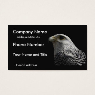 Arctic Gyrfalcon Business Card