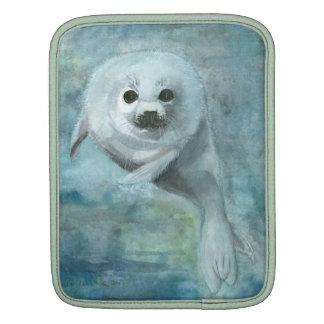 Arctic Harp Seal iPad Sleeve