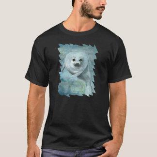 Arctic Harp Seal Wildlife Art T-Shirt