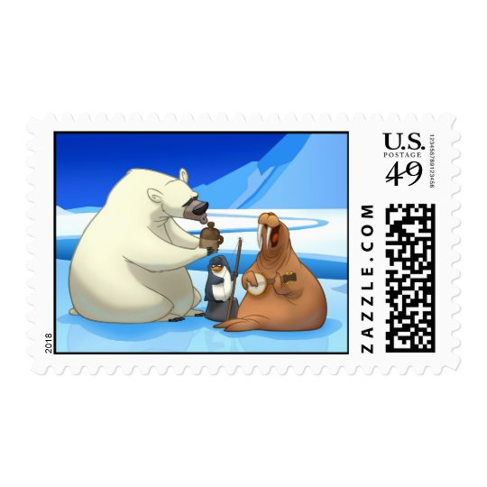 Arctic Jug Band Stamps