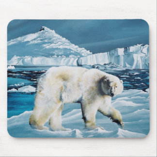Arctic King Mouse Pad