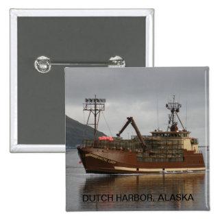 Arctic Lady, Crab Boat in Dutch Harbor, AK Pins