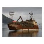 Arctic Lady, Crab Boat in Dutch Harbor, AK Post Card
