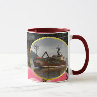 Arctic Lady, Crab Boat in Dutch Harbor, Alaska Mug