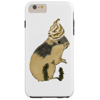 Arctic Lemming Meringue Tough iPhone 6 Plus Case