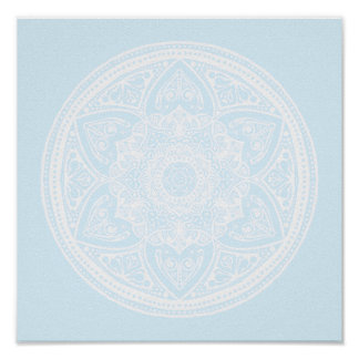 Arctic Mandala Poster