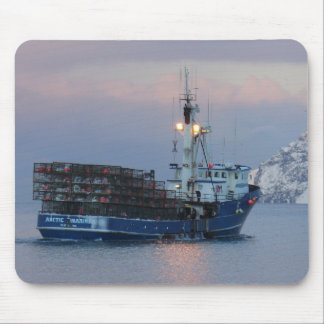 Arctic Mariner, Crab Boat in Dutch Harbor, AK Mouse Pad