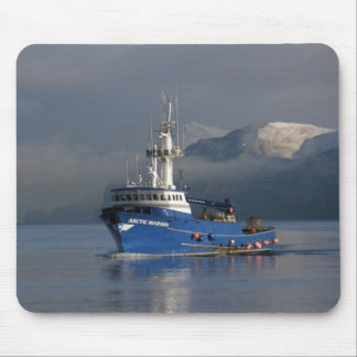 Arctic Mariner, Crab Boat in Dutch Harbor, AK Mousepad