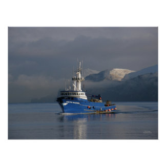 Arctic Mariner, Crab Boat in Dutch Harbor, Alaska Poster