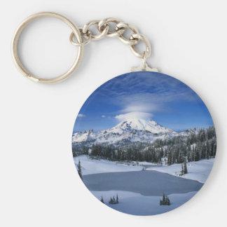 Arctic Mountains Keychain