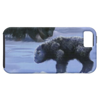 Arctic Musk Ox Mother & Calf Wildlife Art iPhone SE/5/5s Case