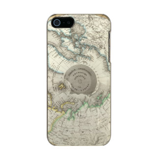 Arctic, Northern Hemisphere Metallic iPhone SE/5/5s Case