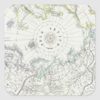 Arctic, Northern Hemisphere Stickers