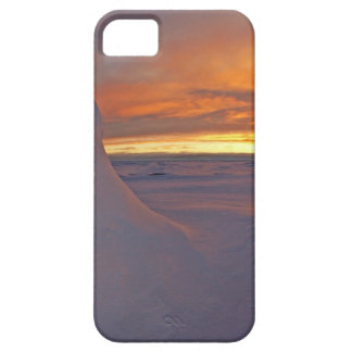 Arctic ocean sunset winter time scene iPhone SE/5/5s case