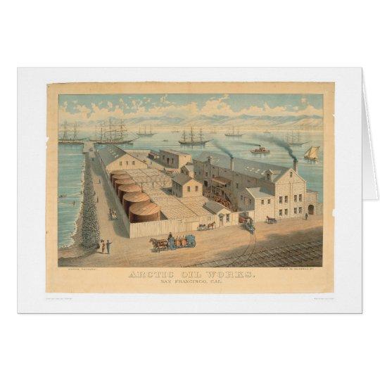 Arctic Oil Works, San Francisco, CA. (0032A) Card