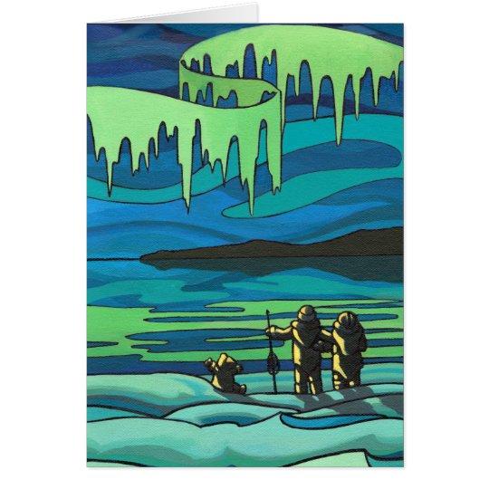 Arctic Painting Blank Card Beautiful Print Cards