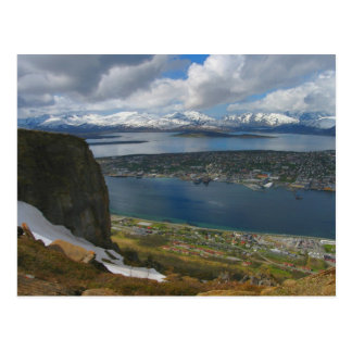 Arctic Paragliders Cliff Postcard