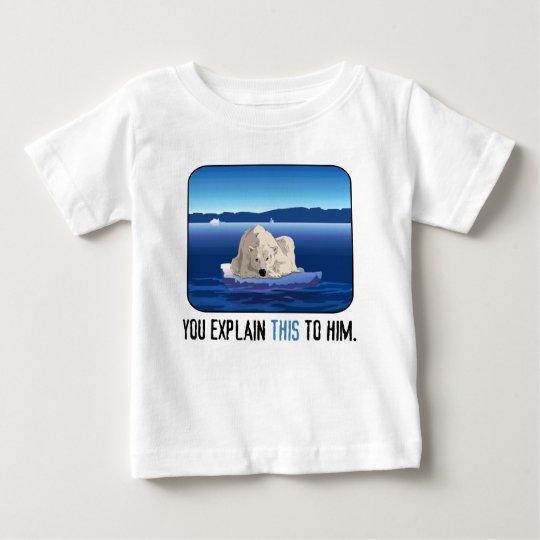 Arctic Polar Bear Baby T-Shirt
