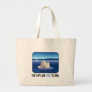 Arctic Polar Bear Tote Bags
