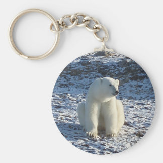 Arctic Polar Bear Keychain