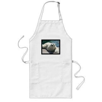 Arctic Polar Bear Long Apron