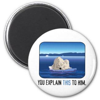 Arctic Polar Bear Magnet