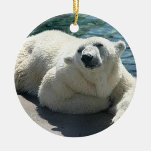 Arctic Polar Bear Ornaments