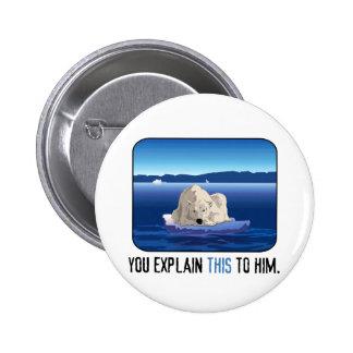 Arctic Polar Bear Pin