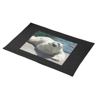 Arctic Polar Bear Placemat