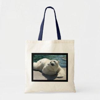 Arctic Polar Bear Small Tote Bag