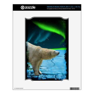 Arctic POLAR BEAR Wildlife Device Decal Skin NOOK Decal