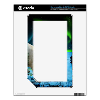 Arctic POLAR BEAR Wildlife Device Decal Skin Decal For NOOK Color