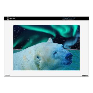 Arctic POLAR BEAR Wildlife Device Decal Skin Decal For Laptop