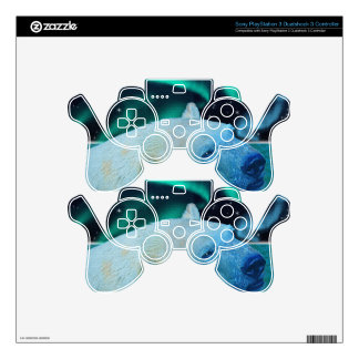 Arctic POLAR BEAR Wildlife Device Decal Skin Decal For PS3 Controller