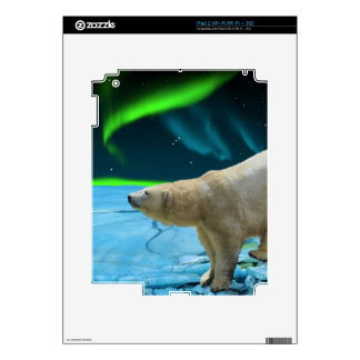 Arctic POLAR BEAR Wildlife Device Decal Skin Decals For iPad 2