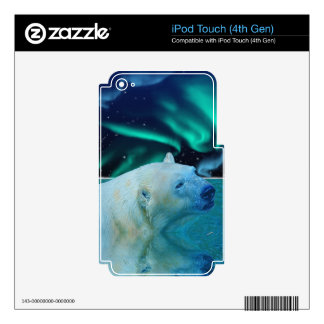 Arctic POLAR BEAR Wildlife Device Decal Skin Decals For iPod Touch 4G