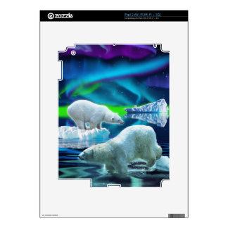 Arctic POLAR BEAR Wildlife Device Decal Skin iPad 2 Decal