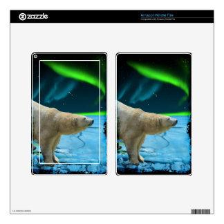 Arctic POLAR BEAR Wildlife Device Decal Skin Kindle Fire Decal