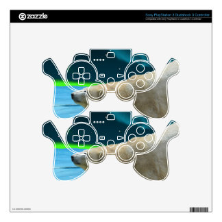 Arctic POLAR BEAR Wildlife Device Decal Skin PS3 Controller Skin