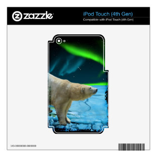 Arctic POLAR BEAR Wildlife Device Decal Skin Skin For iPod Touch 4G