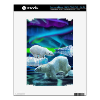 Arctic POLAR BEAR Wildlife Device Skin NOOK Skins