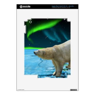 Arctic POLAR BEAR Wildlife Device Skin iPad 3 Skin