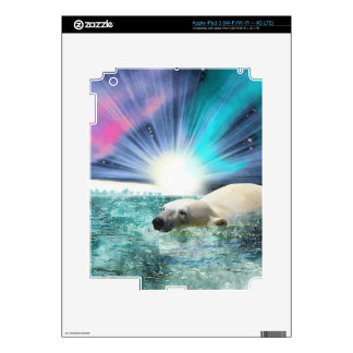 Arctic POLAR BEAR Wildlife Device Skin Skins For iPad 3