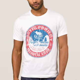 ARCTIC PROJECT Distressed design on destroyed T T-Shirt